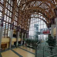 倉吉未来中心の内部
