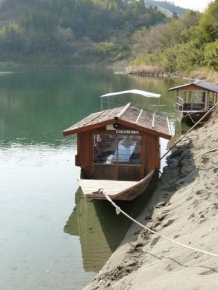 屋形船の船着場