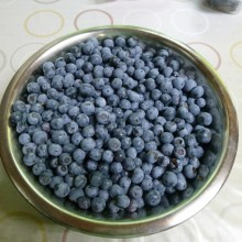 美味しく熟したブルーベリー