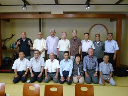 秋の勉強会に参加した15人の仲間たち