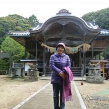 三島神社で