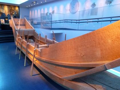 交易船の模型