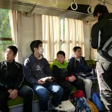列車に乗った子どもたち