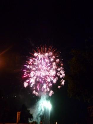 水天宮の花火
