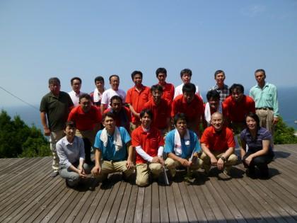 良樹塾終了式の記念写真