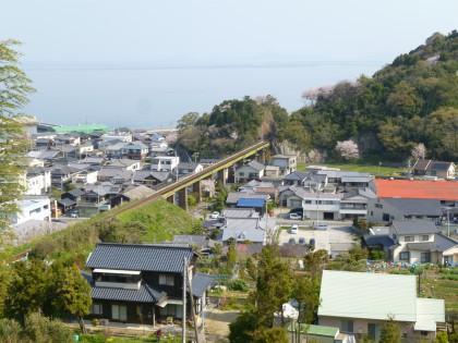 長いJR鉄橋