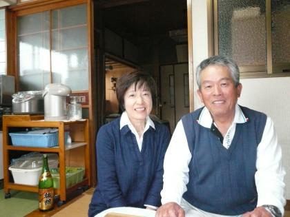 久しぶりに和歌山から帰省した弟夫婦